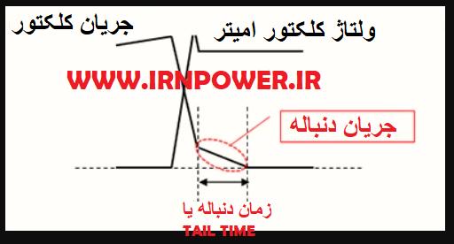 جریان دنباله در IGBT ها